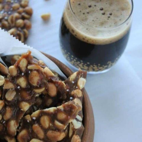 Beer Peanut Brittle - Two Ways