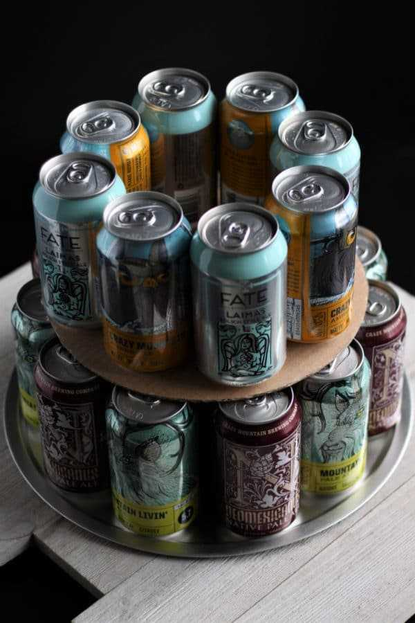 Craft Beer Cake Start layer construction