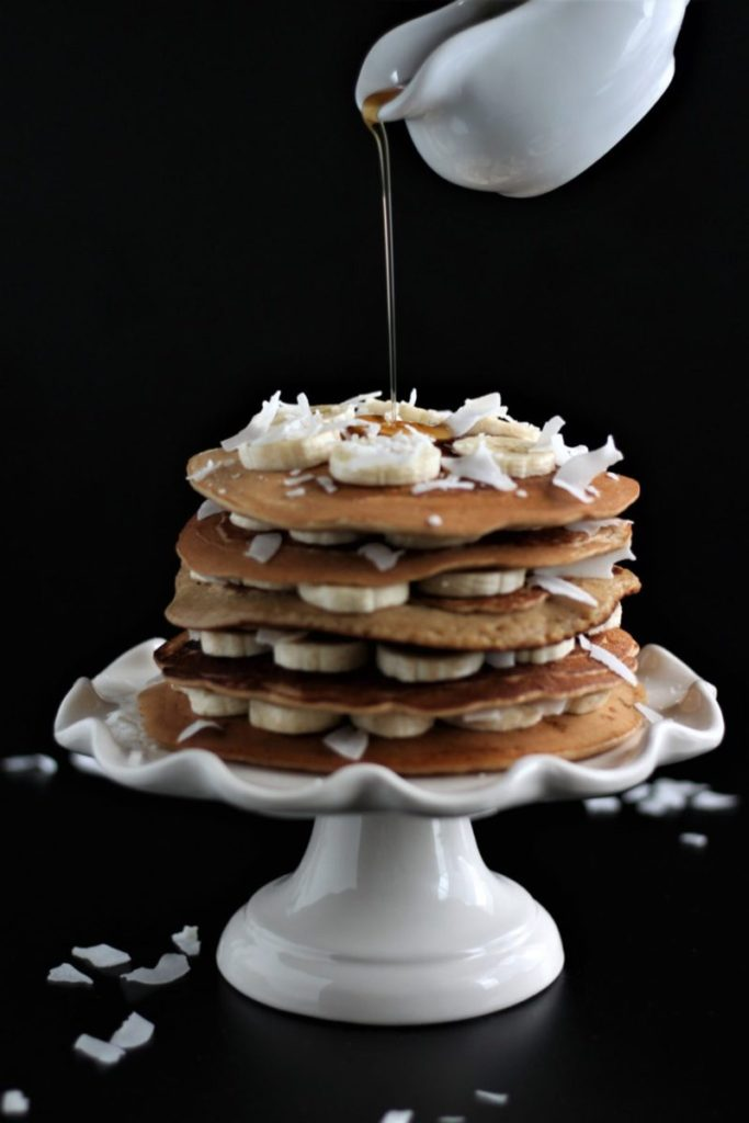Coconut Porter Pancakes