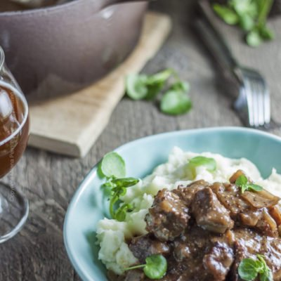 Carbonnade a la Flamande – Beef Stew with Belgian Dubbel Ale