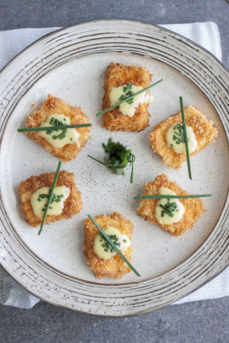 Feta Cheese Bites Circle