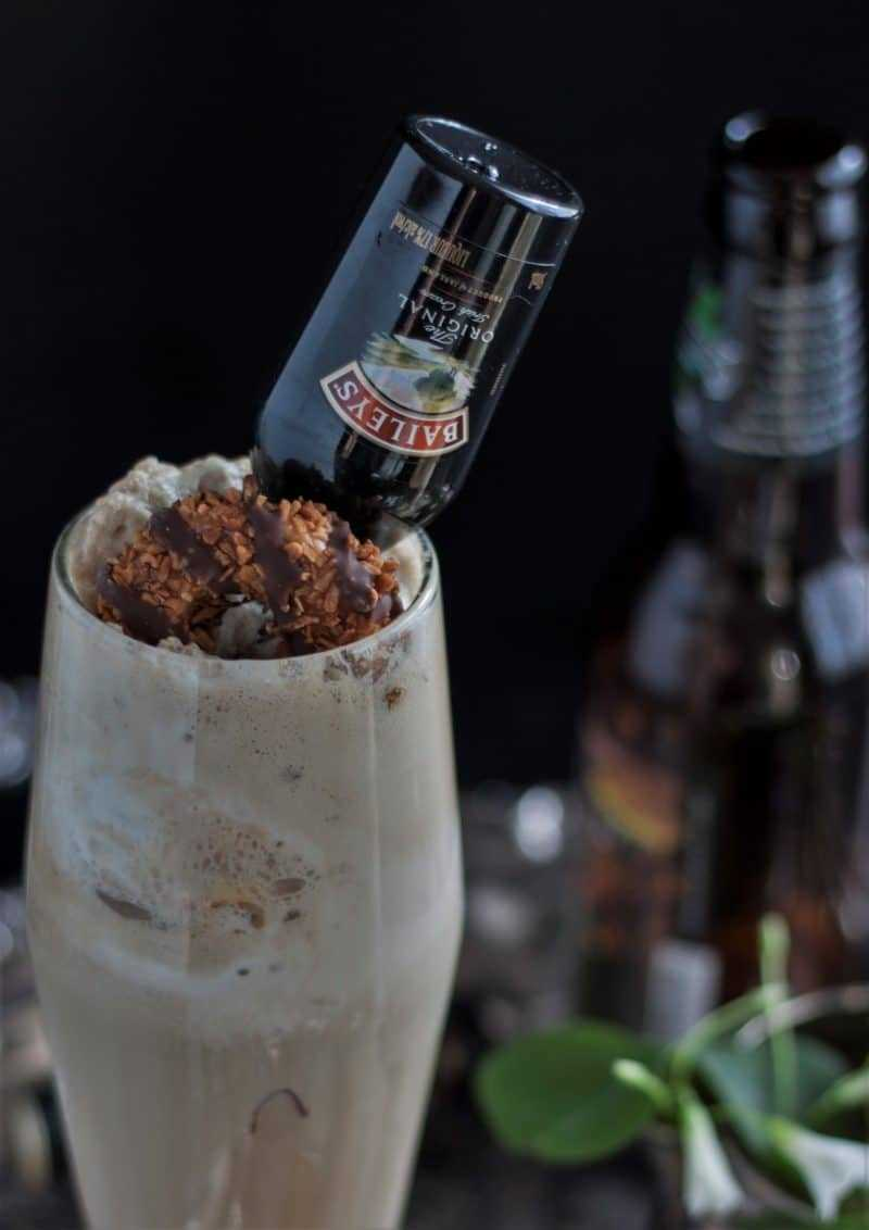 Irish Stout Ice Cream Float with Bailey's 7A