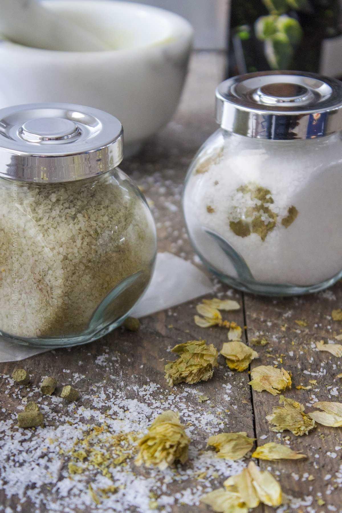 How to Make Hop Salt