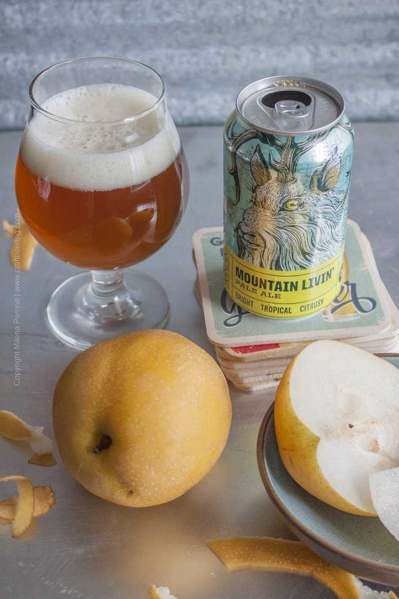 Asian Pear and Pale Ale