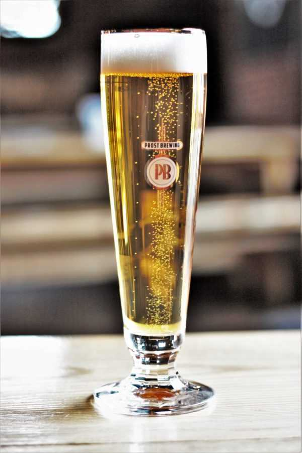 Best Pilsner in Colorado. A true to style, golden perfection - Prost Brewing Pislner.