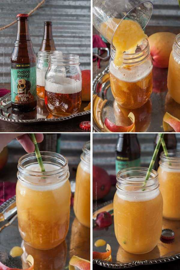 Make your own IPA Mango Slushie. Soo easy!