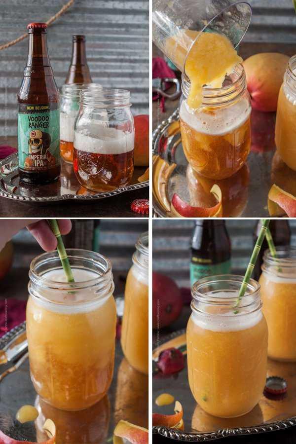 Make your own IPA Mango Slushie. Soo easy!