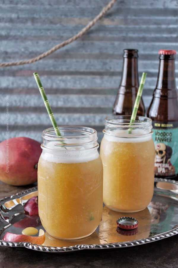 IPA Mango Slushie - ice cold, fragrant and simply delicious.