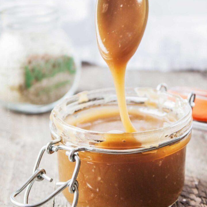 Hops Salted Caramel Sauce