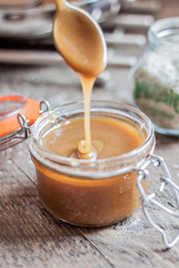 Hops Salted Caramel Sauce in Jar