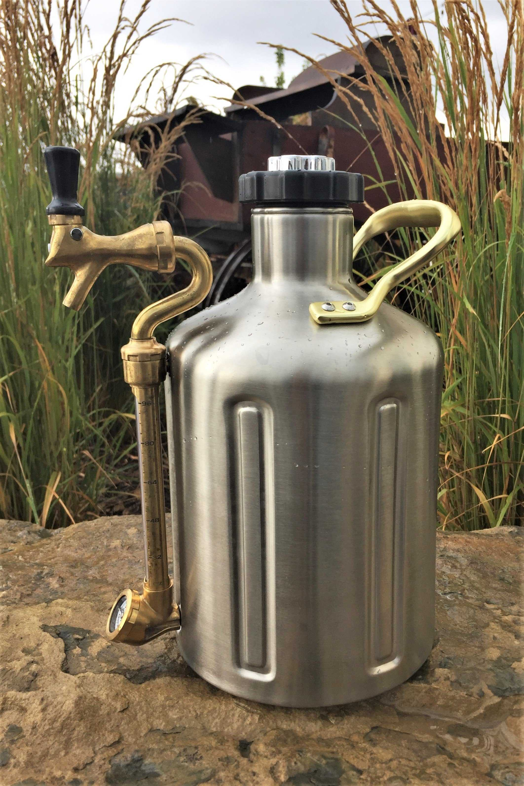 Ukeg Pressurized Growler The Mother Of All Growlers