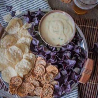 Jalapeño Fontina Beer Cheese Dip