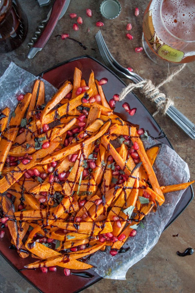 Roasted Saison Butter Sweet Potato Fries