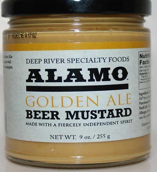 Unique gift for beer lovers. Beer mustard