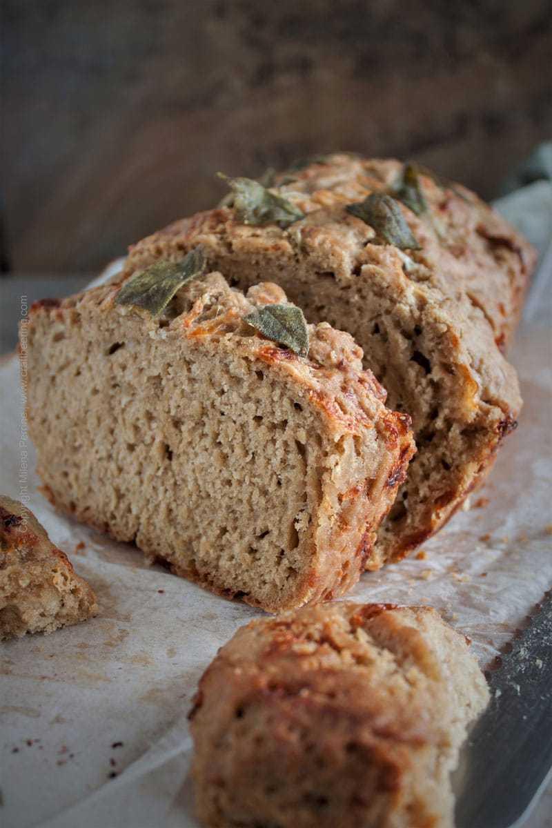 Porter Beer Bread Best Recipe (we put cheese in it too:)