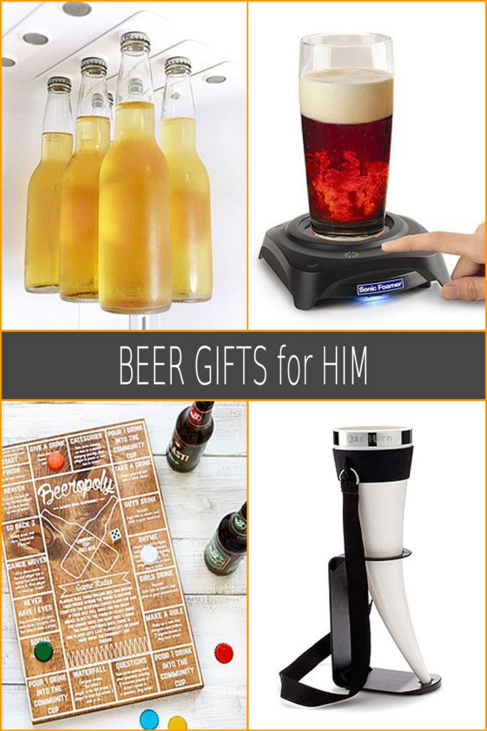 Craft Beer Inspired Gifts for Him