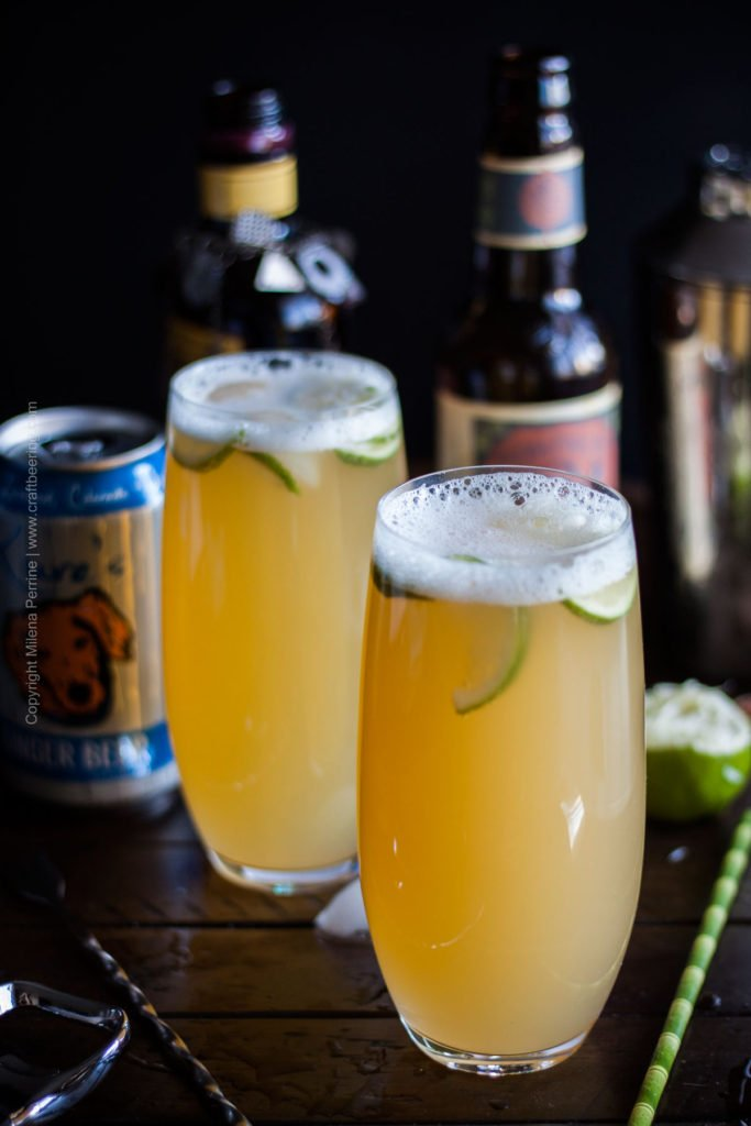 IPA Cocktail with Rum & Ginger Beer (aka Stormy IPA)