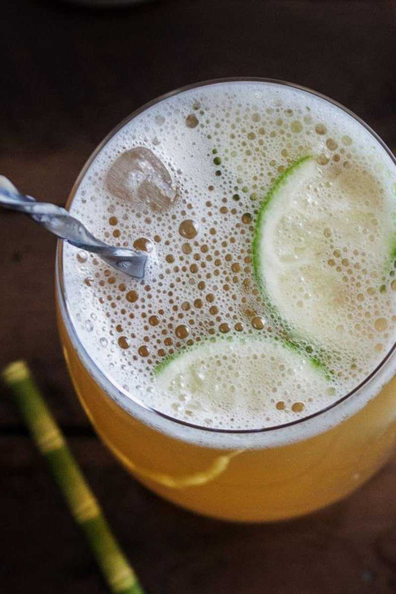 IPA Cocktail with Rum and Ginger Beer