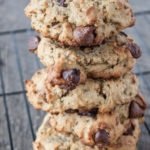 Kahlua spent grain cookies with chocolate chips. #spentgraincookies #kahluacookies