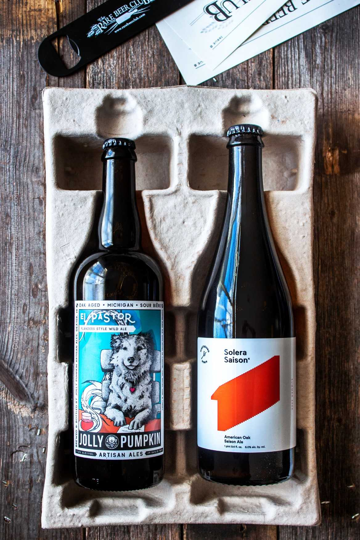 Rare Beer Club - a thoughtful beer gift for him with unique brews from the US and the world.
