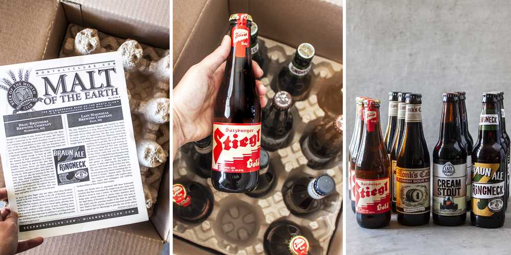 Beer gift for him - a monthly selection of international and domestic brews, handpicked to delight the palate!