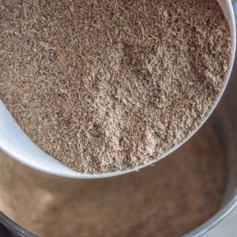 How to Make Spent Grain Flour #spentgrain #spentgrainflour