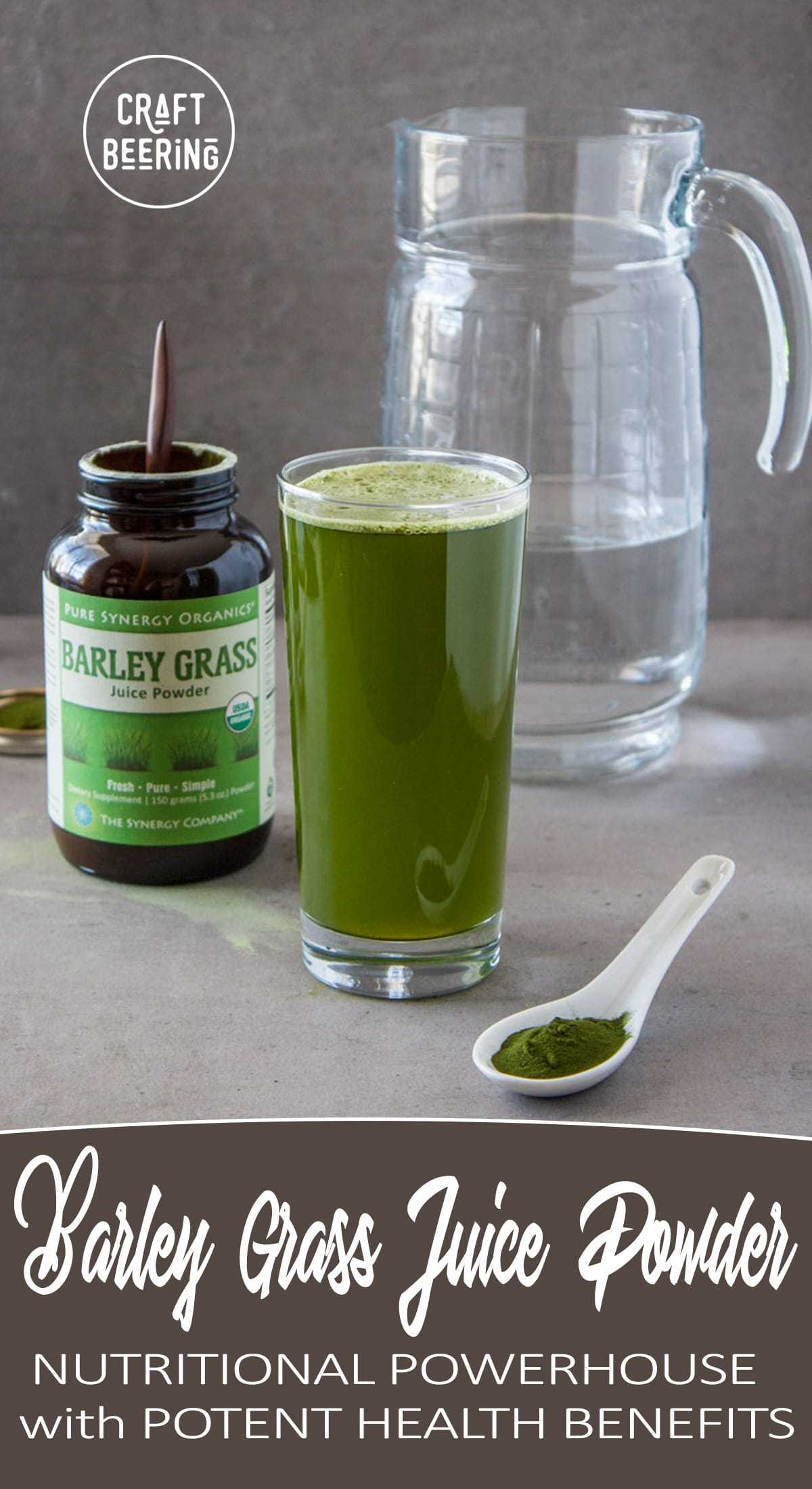 barley grass juice powder health benefits (there are many)