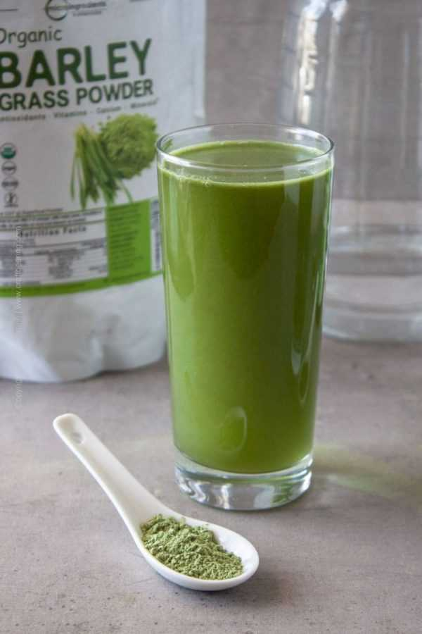 Barley grass powder is different than barley grass juice powder and contains more fiber. #barleygrass