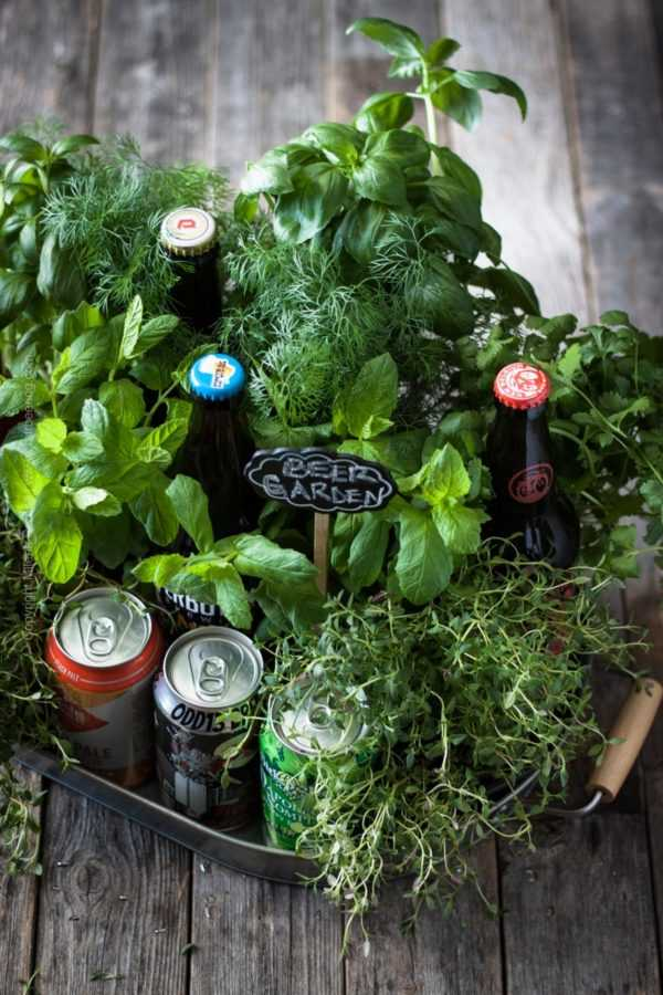 Beer garden:) Who could turn down a beer gift like this? #beer #beergift #biergarten #beergarden