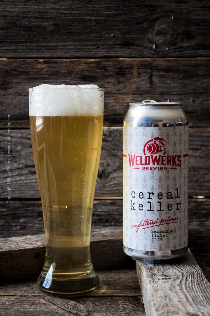 Unfiltered Pilsner. Cereal Keller |WeldWerks Brewing