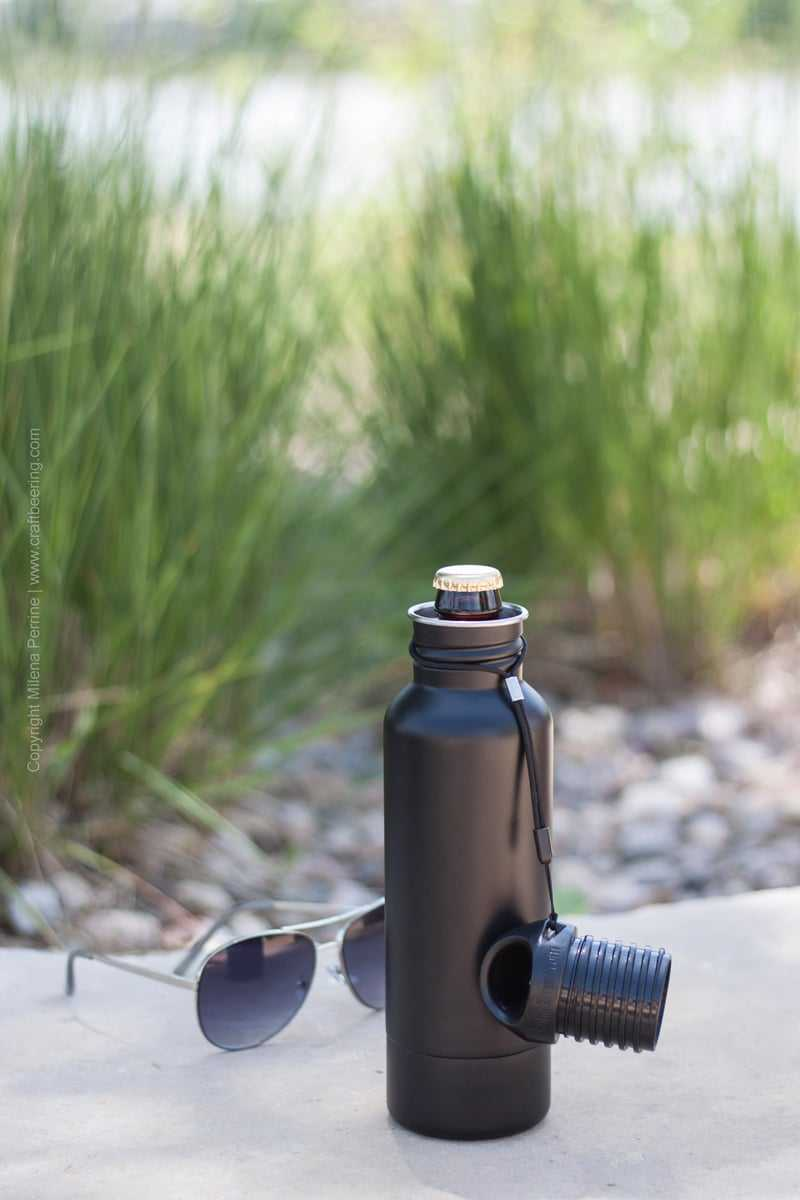 Sleek, sturdy and functional beer bottle koozie | BottleKeeper