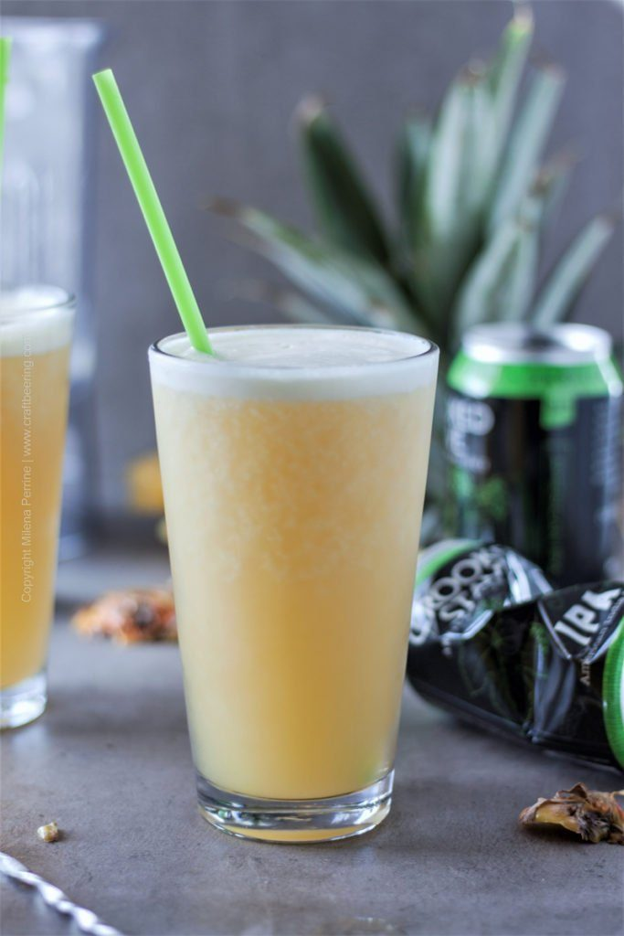 Juicy IPA Pineapple Slushie