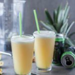 Pineapple Slushie with juicy IPA