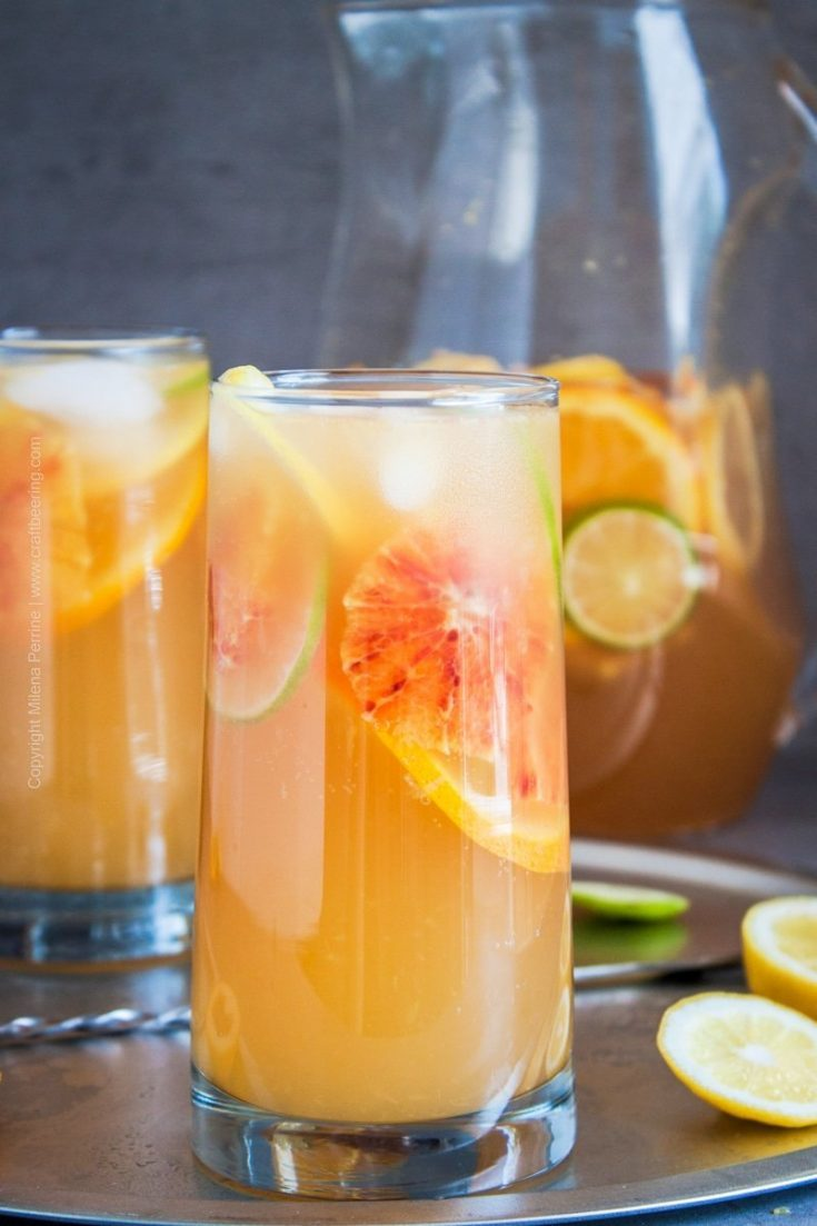 White Sangria (2 in 1 recipe)