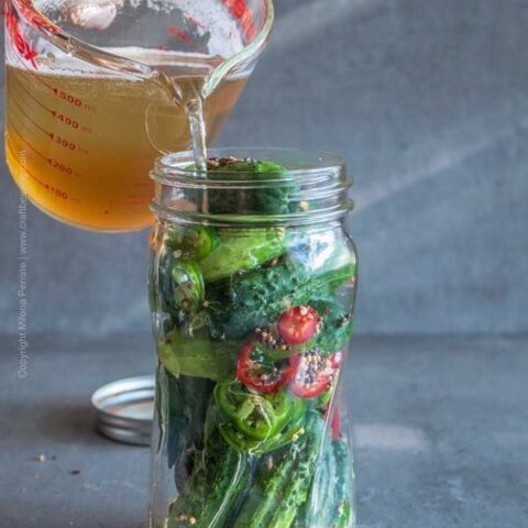Beer Pickles (Two Ways)