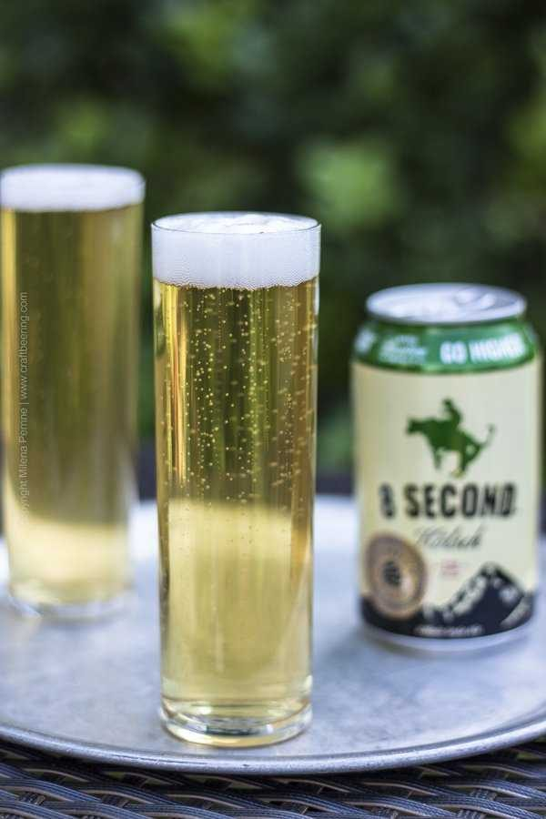 Kolsch style ale - 8 Seconds brewed by Elevation Beer Co.