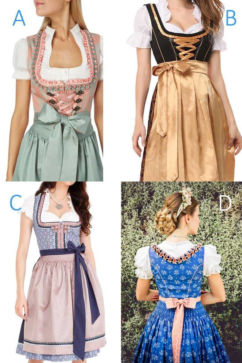 Meaning of dirndl bow