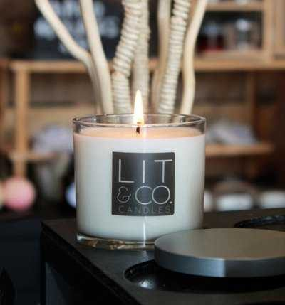 hops soy candle