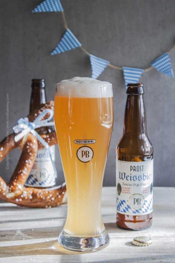 Prost Brewing Weissbier