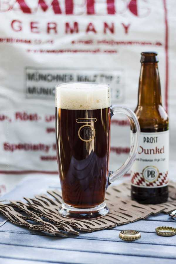 Prost Brewing Co. Dunkel lager.