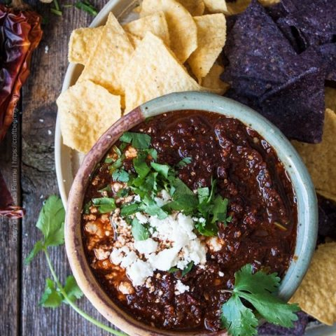 Salsa Borracha aka Drunk Salsa with Mexican lager