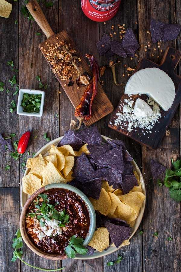 Salsa Borracha with Red Truck Beer Baja Mexican lager
