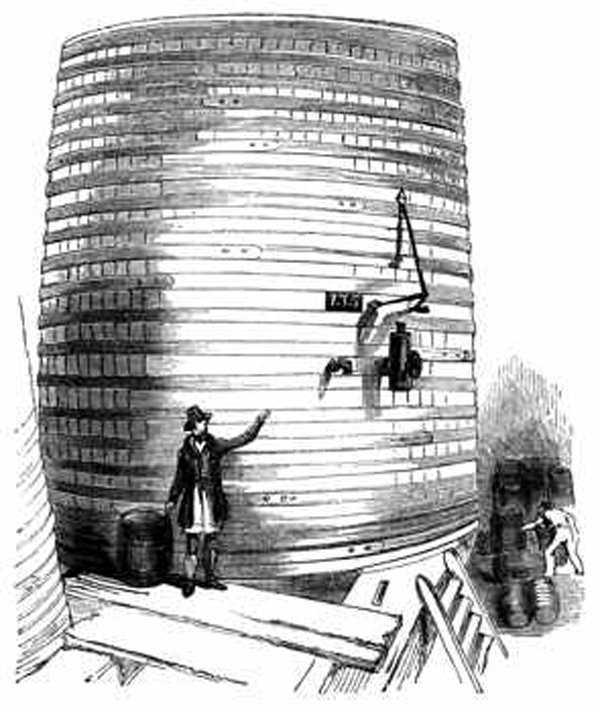 Mega vat for fermenting porter