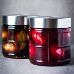 Pickled eggs (soleier) two ways - balsamic spicy and red beet and apple cider vinegar.
