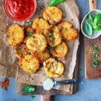 Fried Mozzarella Cheese