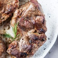 Lamb Chops in Oven