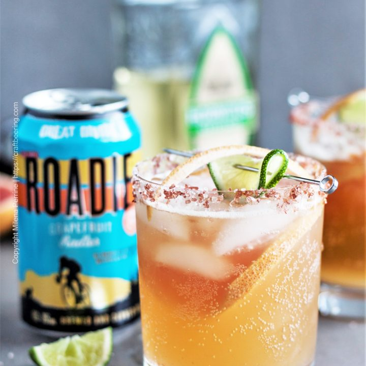 Paloma with Grapefruit Beer
