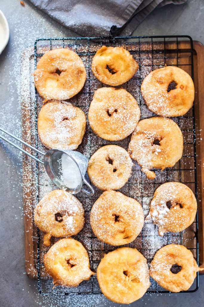 Apple Ring Fritters (Apfelküchle)