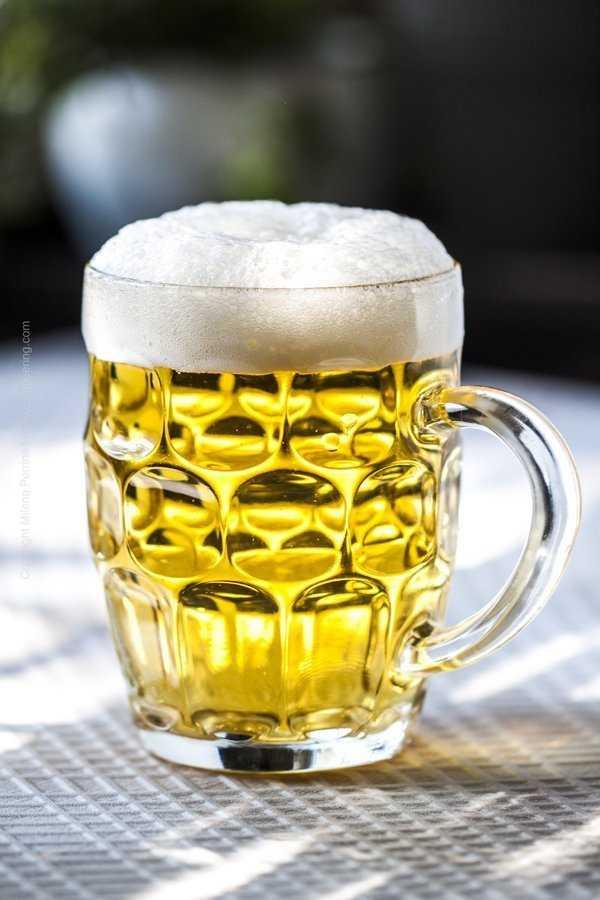 Augenkanne beer glass.