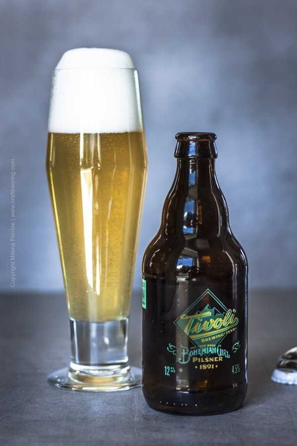 American brewed Bohemian style pilsner lager.